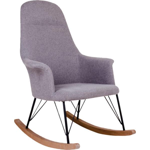 Liva stol natur/grå