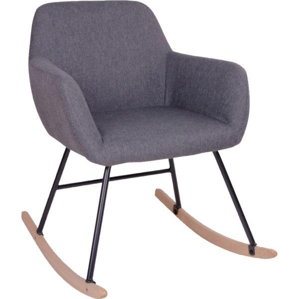 Mathilde stol natur/grå