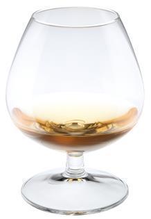 Cognacglas 250ml højde 10.2 cm